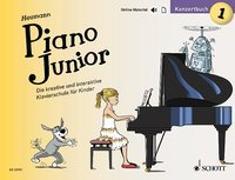 Cover-Bild zu Piano Junior: Konzertbuch 1 von Heumann, Hans-Günter