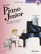 Cover-Bild zu Piano Junior: Konzertbuch 2 von Heumann, Hans-Günter