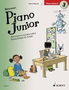 Cover-Bild zu Piano Junior: Theoriebuch 3 von Heumann, Hans-Günter