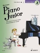 Cover-Bild zu Piano Junior: Konzertbuch 3 von Heumann, Hans-Günter