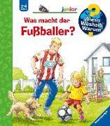Cover-Bild zu Was macht der Fußballer?