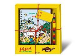 Cover-Bild zu Pippi Langstrumpf Geschenkset von Lindgren, Astrid