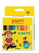 Cover-Bild zu Pippi Langstrumpf Knete von Lindgren, Astrid