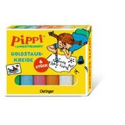 Cover-Bild zu Pippi Langstrumpf Goldstaubkreide von Lindgren, Astrid