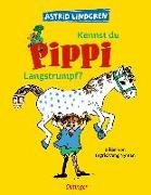 Cover-Bild zu Kennst du Pippi Langstrumpf? von Lindgren, Astrid
