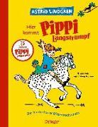 Cover-Bild zu Hier kommt Pippi Langstrumpf von Lindgren, Astrid