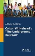 "Cover-Bild zu A Study Guide for Colson Whitehead's ""The Underground Railroad"" von Gale, Cengage Learning"