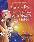 Cover-Bild zu Familie Bär wartet auf den Weihnachtsmann von Bedford, David