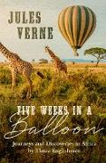 Cover-Bild zu Five Weeks in a Balloon (eBook) von Verne, Jules