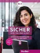 Cover-Bild zu Sicher in Alltag und Beruf! B2.2 / Kursbuch + Arbeitsbuch von Schwalb, Susanne