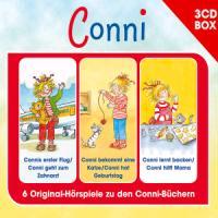 Cover-Bild zu CONNI - 3-CD HÖRSPIELBOX VOL. 4 von Conni (Komponist)