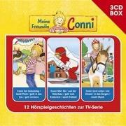 Cover-Bild zu Meine Freundin Conni-3-CD Hörspielbox Vol.2 von Meine Freundin Conni (TV-Hörspiel) (Komponist)
