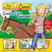 Cover-Bild zu 02: Conni Bauernhof/Kindergarten/Zahnarzt/1.Flug von Meine Freundin Conni (Tv-Hörspiel) (Komponist)