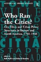 Cover-Bild zu Roth, Ralf: Who Ran the Cities?