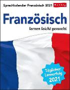 Cover-Bild zu Sprachkalender Französisch Kalender 2021