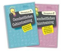 Cover-Bild zu Ganzheitliches Gehirntraining Übungsbücher 1+2 im Set von Oppolzer, Ursula