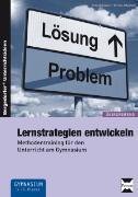 Cover-Bild zu Lernstrategien entwickeln von Oppolzer, Ursula