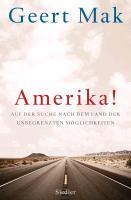 Cover-Bild zu Mak, Geert: Amerika!