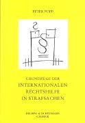 Cover-Bild zu Grundzüge der internationalen Rechtshilfe in Strafsachen