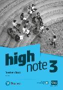 Cover-Bild zu High Note Level 3 Teacher's Book von Cole, Anna