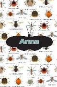 Cover-Bild zu Anna: Bug Insect Journal Notebook 120 Pages 6x9 von Cole, Rob
