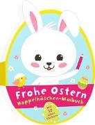 Cover-Bild zu Frohe Ostern - Hoppelhäschen-Malbuch