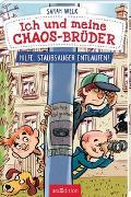 Cover-Bild zu Ich und meine Chaos-Brüder - Hilfe, Staubsauger entlaufen! von Welk, Sarah