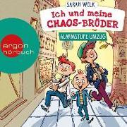Cover-Bild zu Ich und meine Chaos-Brüder - Alarmstufe Umzug von Welk, Sarah
