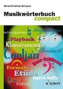 Cover-Bild zu Schaper, Heinz-Christian: Musikwörterbuch compact