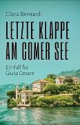 Cover-Bild zu Letzte Klappe am Comer See von Bernardi, Clara