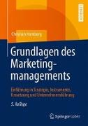 Cover-Bild zu Grundlagen des Marketingmanagements von Homburg, Christian