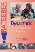Cover-Bild zu Dysarthrie von Berndt, Anne