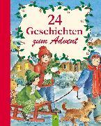 Cover-Bild zu 24 Geschichten zum Advent (eBook) von Annel, Ingrid