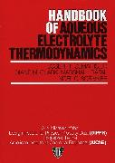 Cover-Bild zu Handbook of Aqueous Electrolyte Thermodynamics (eBook) von Zemaitis, Joseph F.