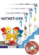 Cover-Bild zu Mathetiger 1 - Jahreszeiten-Hefte (4 Hefte). Neubearbeitung von Laubis, Thomas