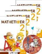 Cover-Bild zu Mathetiger 2 - Jahreszeiten-Hefte - Neubearbeitung von Laubis, Thomas