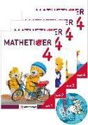 Cover-Bild zu Mathetiger 4 - Jahreszeiten-Hefte · Neubearbeitung von Laubis, Thomas