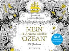 Cover-Bild zu Phantastischer Ozean - Postkartenbuch von Basford, Johanna