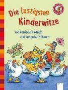 Cover-Bild zu Rieckhoff, Jürgen (Illustr.): Der Bücherbär. Erstlesebücher für das Lesealter 1. Klasse / Die lustigsten Kinderwitze. Von komischen Vögeln und lachenden Hühnern