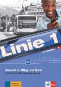 Cover-Bild zu Linie 1 A1. Testheft mit Audio-CD. Ausgabe für die Schweiz von Althaus, Kirsten