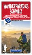 Cover-Bild zu Wanderparadies Schweiz Wanderführer von Kümmerly+Frey AG (Hrsg.)