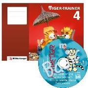 Cover-Bild zu Tiger-Trainer 4 - Arbeitsheft mit CD-ROM Mathetiger Basic 4 von Keller, Karl H.