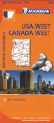 Cover-Bild zu USA West, Canada West. 1:2'400'000