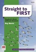 Cover-Bild zu Straight to First Student's Book without Answers Pack von Norris, Roy