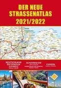 Cover-Bild zu garant Verlag GmbH (Hrsg.): Straßenatlas 2021/2022 für Deutschland und Europa