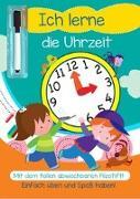 Cover-Bild zu garant Verlag GmbH (Hrsg.): Lernheft mit Stift - Ich lerne die Uhr