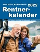 Cover-Bild zu garant Verlag GmbH (Hrsg.): Rentnerkalender 2022 Abreißkalender