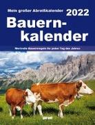 Cover-Bild zu garant Verlag GmbH (Hrsg.): Bauernkalender 2022 Abreißkalender