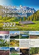 Cover-Bild zu garant Verlag GmbH (Hrsg.): Wochenkalender Natur- und Nationalparks 2022