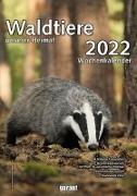 Cover-Bild zu garant Verlag GmbH (Hrsg.): Wochenkalender Waldtiere unserer Heimat 2022
